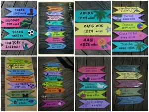 Some of the Signs ordered during The Summer of Signs 2013